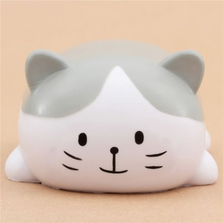 White Squishy Face Cat : cute Oriker white and grey cat squishy kawaii scented - Cute Squishy Shop