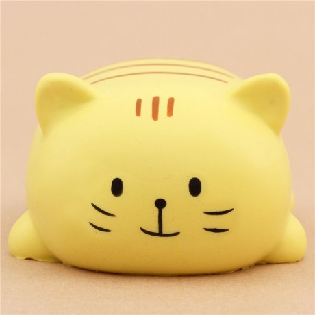 Soft And Squishy Cat Vine : cute Oriker yellow cat with brown stripes squishy kawaii scented - Cute Squishy Shop