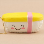 Scented Double Hamburger With A Face Food Squishy Cute