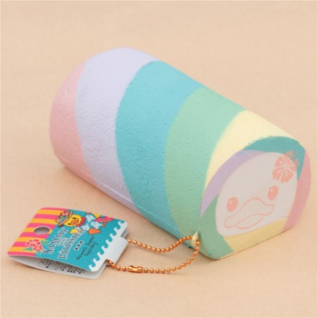 Pastel Cakes Squishy Tag : Sammy the Patissier cute colorful pastel color roll cake squishy charm kawaii - Cute Squishy Shop