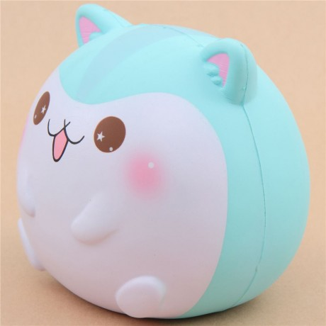 scented jumbo turquoise hamster animal squishy by Popularboxes_hk - Cute Squishy Shop