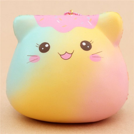 May Kawaii Squishy And Slime : scented rainbow marshmallow kitten squishy by Puni Maru - Cute Squishy Shop