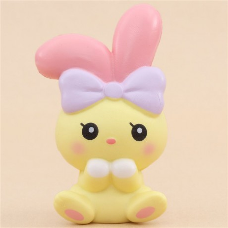 Squishy Squooshems Bunny : scented yellow angel bunny animal squishy by iBloom - Cute Squishy Shop