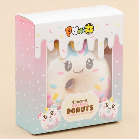 Squishy Donut Unicorn : unicorn animal donut squishy by Puni Maru - Cute Squishy Shop