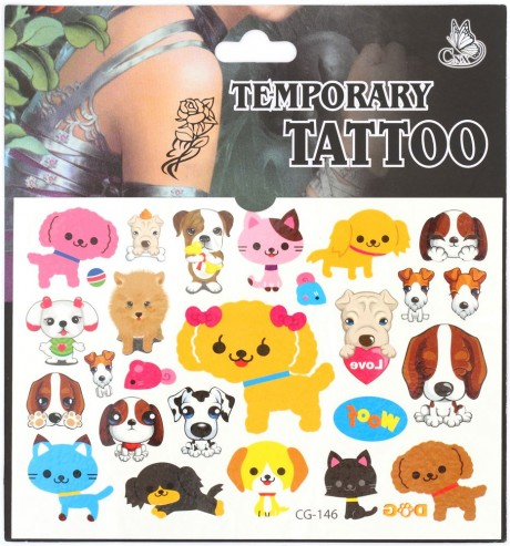 Squishy Bun Diy : white bun squishy with dog tattoo stickers for DIY decoration - Cute Squishy Shop